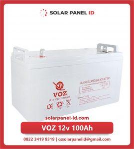 Jual baterai aki kering VOZ 12v 100Ah murah