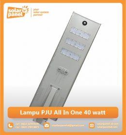 jual lampu pju all in one 40 watt