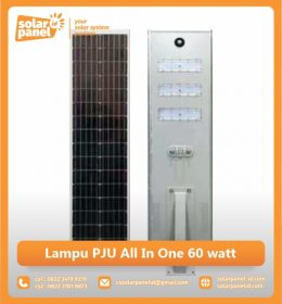 jual lampu pju all in one 60w