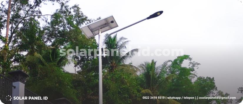 jual paket pju tenaga surya solar cell solarcell 20 watt surabaya murah