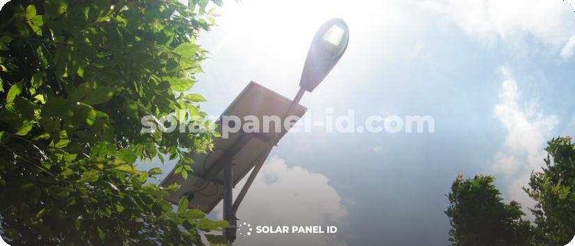 jual paket pju tenaga surya solar cell solarcell surabaya murah