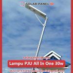 jual pju all in one solar cell 30 watt