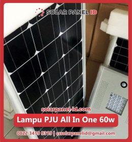 jual pju all in one solar cell 60 watt