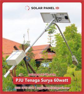 jual pju solar cell tenaga surya 60 watt 60watt