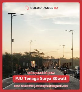 jual pju solar cell tenaga surya 80 watt 80watt