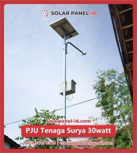 jual pju tenaga surya 30 watt 30watt