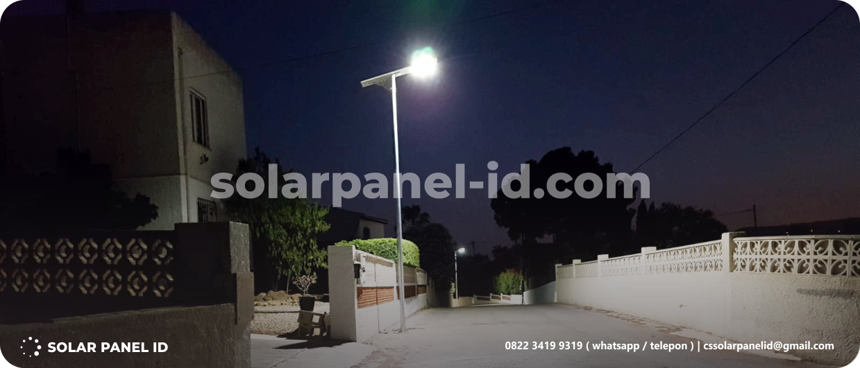 lampu pju all in one murah 30 watt