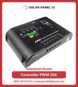 Jual dua solar charge controller 20 Ampere 12v 24v
