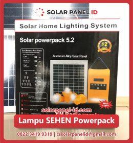 Jual paket SEHEN solarkit powerpack Tenaga Surya