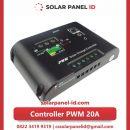 Jual satu solar charge controller 20A 12v 24v