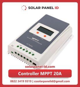 Jual satu solar charge controller mppt 20A 12v 24v