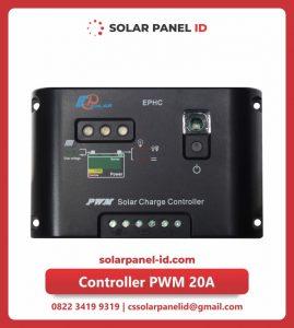 Jual tiga solar charge controller 20 Ampere 12v 24v murah
