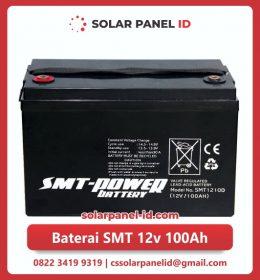 jual baterai vrla gel smt 12v 100ah solar cell tenaga surya murah