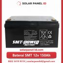 jual baterai vrla gel smt 12v 150ah solar cell tenaga surya murah