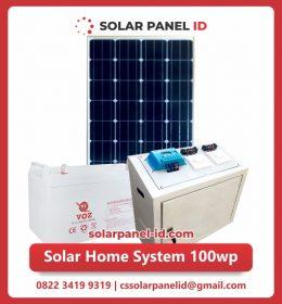 jual paket solar home system 100wp murah