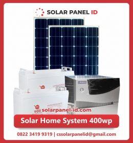 jual paket solar home system 200wp 1600watt murah