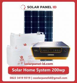 jual paket solar home system 200wp murah