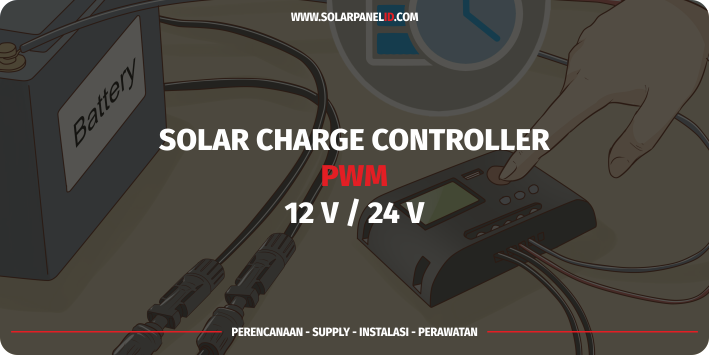 jual solar charge controller pwm solarcell 10A 12v 24v