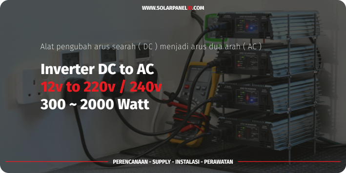 harga power inverter dc to ac 300 watt