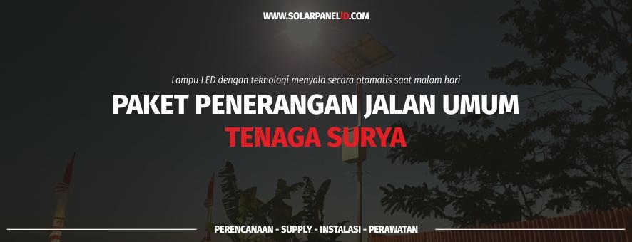 harga lampu jalan tenaga surya