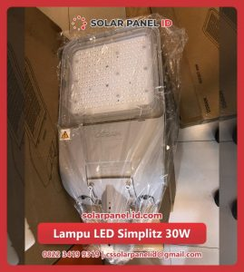 harga lampu led solar cell tenaga surya 30 watt murah