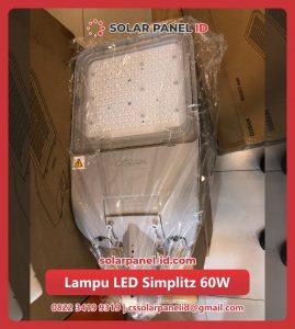 harga lampu led solar cell tenaga surya 60 watt murah
