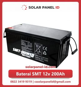 jual baterai vrla gel smt 12v 200ah solar cell tenaga surya murah