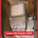 jual lampu led solar cell 120watt