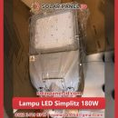jual lampu led solar cell 180watt