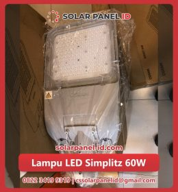 jual lampu led solar cell 60watt