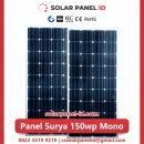 panel surya 150 wp murah mono