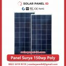 panel surya 150 wp murah poly