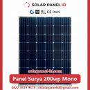 panel surya 200 wp murah mono