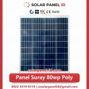 panel surya 80 wp murah poly