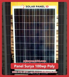 solar cell 100 wp poly