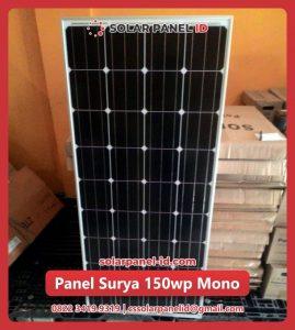 solar cell 150 wp mono