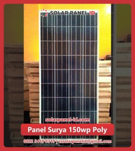 solar cell 150 wp poly