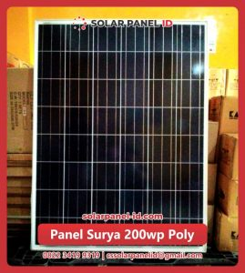 solar cell 200 wp poly