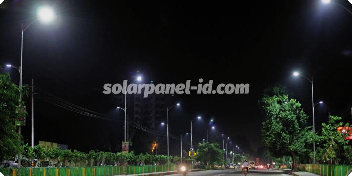 daftar harga pju solarcell satu set lengkap manado sulawesi utara