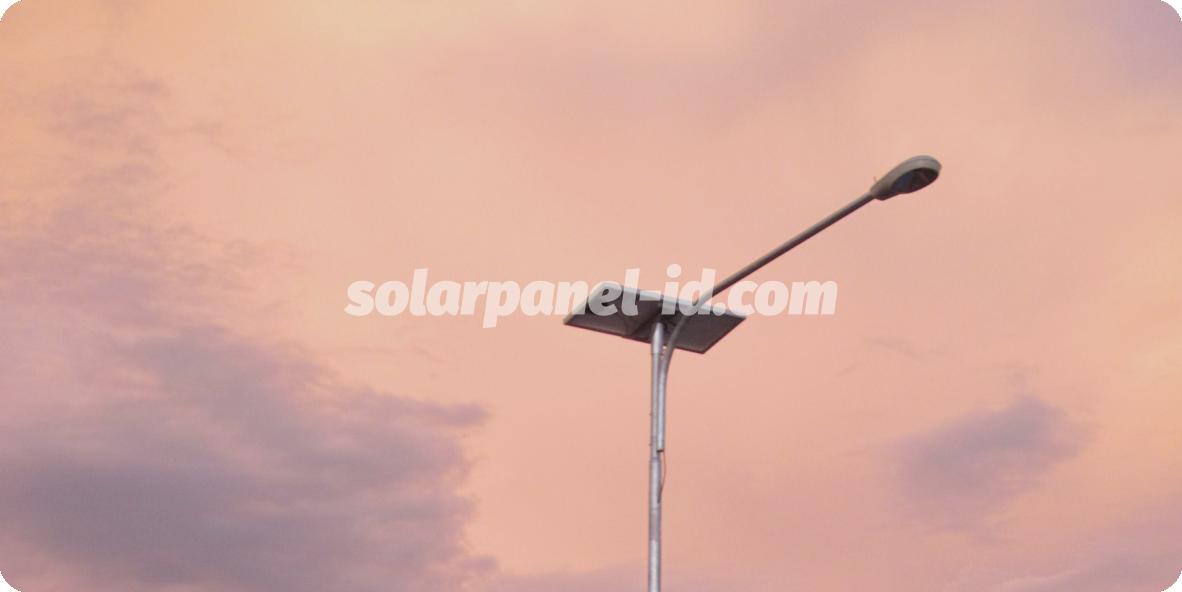 harga lampu pju tenaga surya kendari