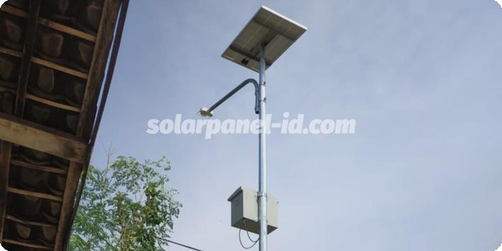 jual lampu jalan tenaga surya manado