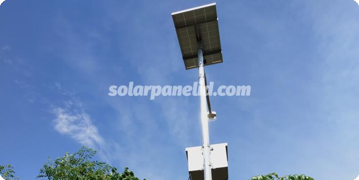 daftar harga lampu jalan pju solarcell satu set lengkap mamuju sulawesi barat