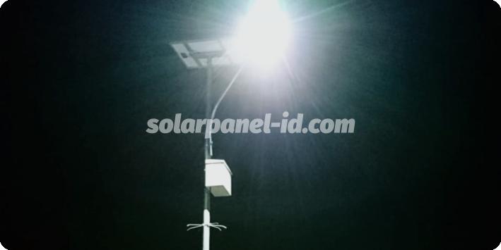 daftar harga pju solarcell satu set lengkap nunukan kalimantan utara