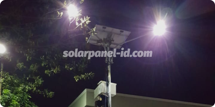 daftar harga pju solarcell satu set lengkap sorong papua barat