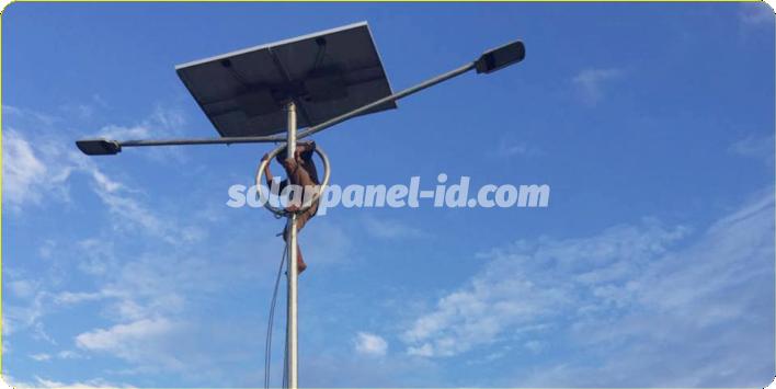 daftar harga pju solarcell satu set lengkap sumbawa nusa tenggara barat ntb
