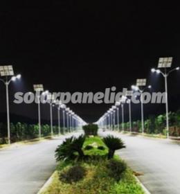 harga paket lampu jalan solarcell satu set lengkap purbalingga jawa tengah