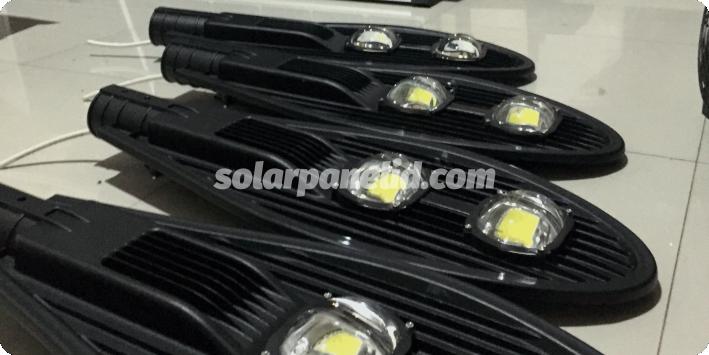 jual lampu pju solarcell 100 watt murah