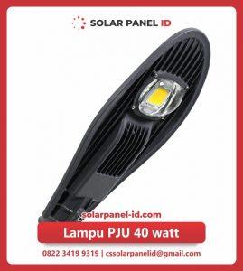 jual lampu pju solarcell 40watt murah