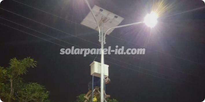 lampu jalan tenaga surya sorong papua barat
