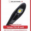 lampu pju solarcell 40watt murah